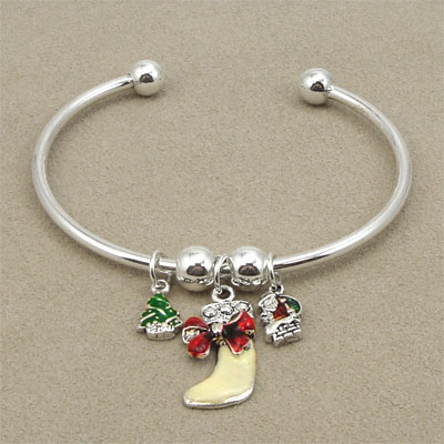 Christmas bangle jewelry