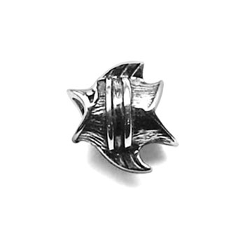 Tropical fish sterling silver jewelry