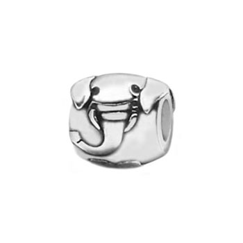 Elephant sterling silver bead jewelry