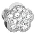 sb1053 flower 925 sterling silver jewelry beads
