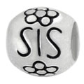 Sis 925 sterling silver beads for European jewelry