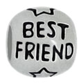Best friend 925 sterling silver beads for Pandora jewelry