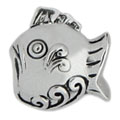 sterling silver fish for charm bracelets