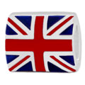 British flag Union Jack 925 sterling silver bead