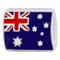 Australia flag 925 sterling silver bead jewelry
