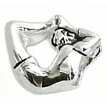 yoga girl sterling silver bead jewelry