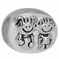 boy and girl sterling silver bead jewelry