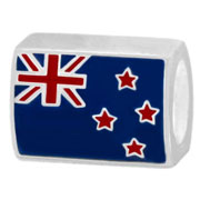 New Zealnad flag charm bead