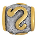 Leo silver zodiac beads for Pandora jewelrylver jewelry wholesale SB-0607