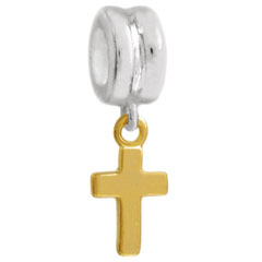 Wholesale silver cross charm jewelry