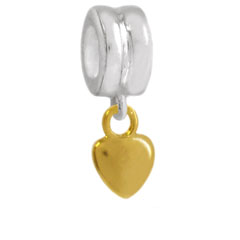 Wholesale silver heart charm jewelry