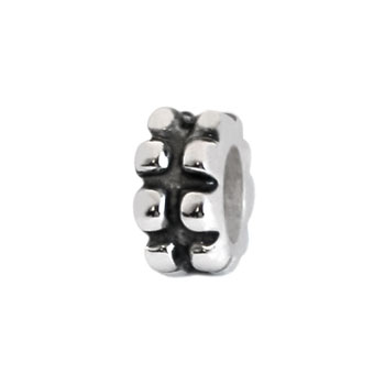 sterling silver charm spacer