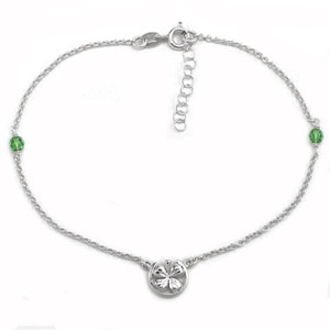 8102 wholesale silver anklets