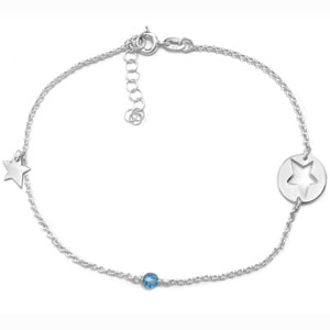 8104 silver anklet chains