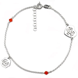 8105 silver anklets and chains